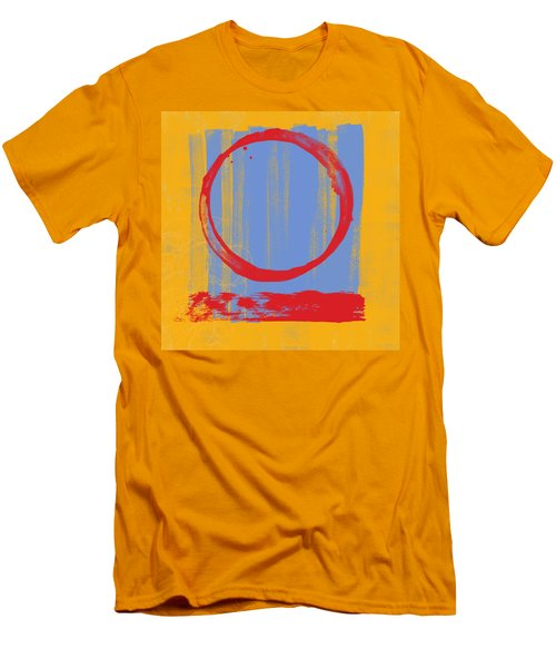 Men's T-Shirt (Slim Fit) featuring the painting Enso by Julie Niemela
