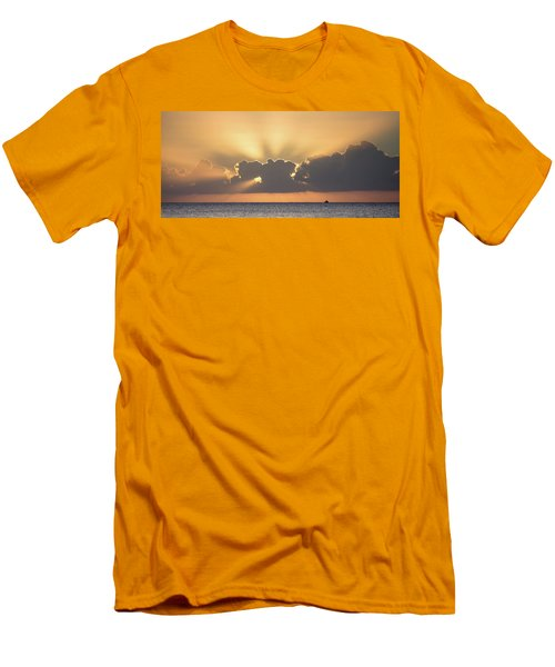 Evening Fishing Men's T-Shirt (Athletic Fit)