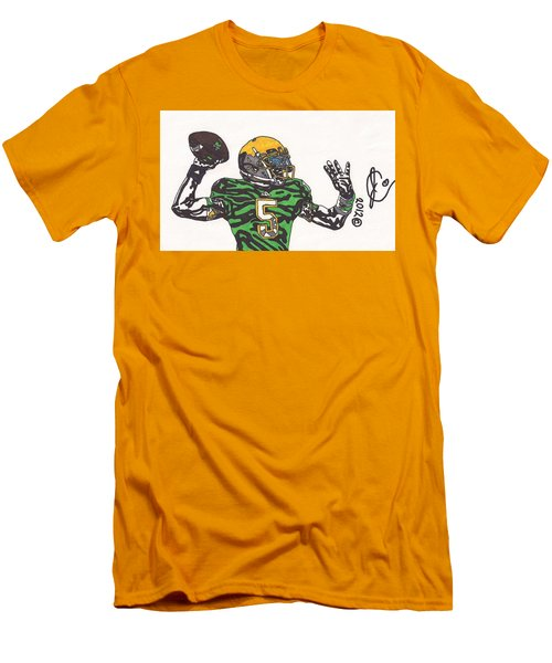 Everett Golson 1 Men's T-Shirt (Slim Fit) by Jeremiah Colley