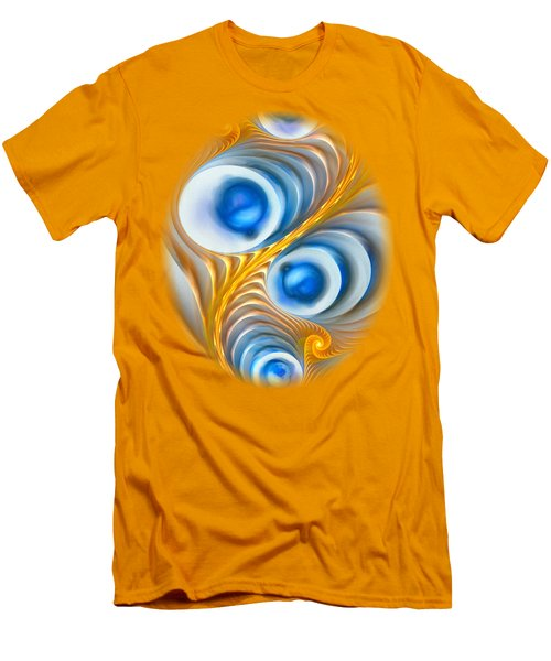 Men's T-Shirt (Slim Fit) featuring the digital art Exaggeration by Anastasiya Malakhova
