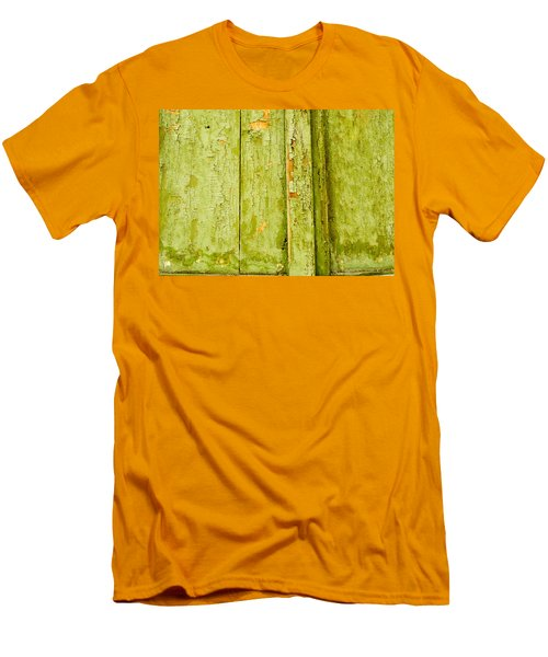 Men's T-Shirt (Slim Fit) featuring the photograph Fading Old Paint by John Williams