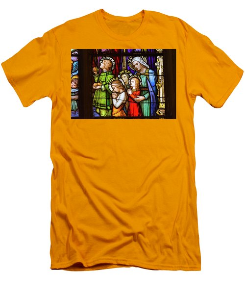 Faith, Hope, And Charity Men's T-Shirt (Athletic Fit)