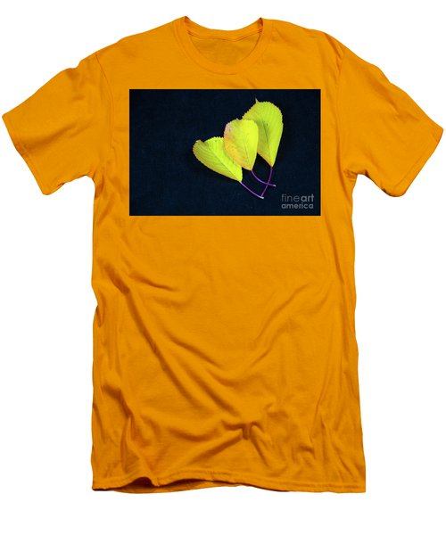 Men's T-Shirt (Athletic Fit) featuring the photograph Fall Season Colors by Kennerth and Birgitta Kullman