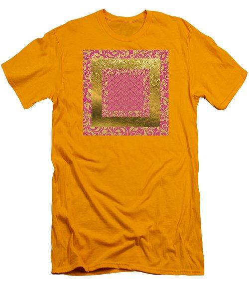 Fancy Schmancy Men's T-Shirt (Slim Fit) by Bonnie Bruno