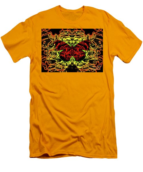 Fear Of The Red Admirals Men's T-Shirt (Athletic Fit)