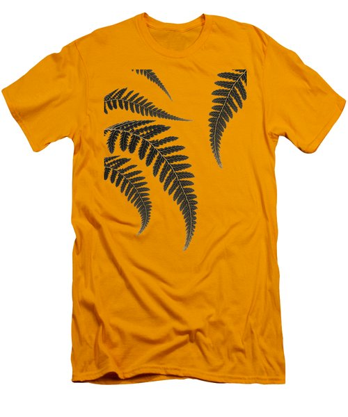 Fern Leaves Men's T-Shirt (Athletic Fit)
