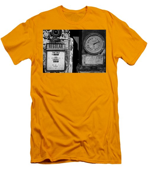Fill Er Up Men's T-Shirt (Slim Fit) by Michael Nowotny