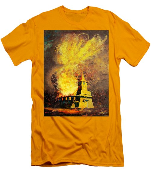 Fire Angel Men's T-Shirt (Athletic Fit)
