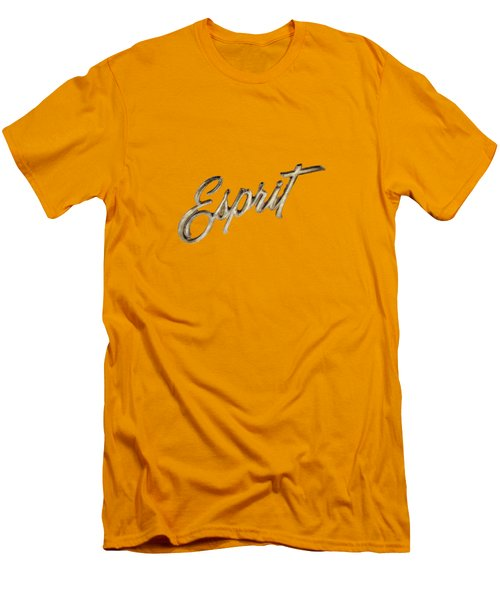 Firebird Esprit Chrome Emblem Men's T-Shirt (Athletic Fit)