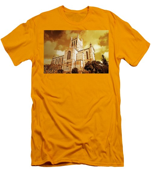 First Congregational Church  Men's T-Shirt (Athletic Fit)