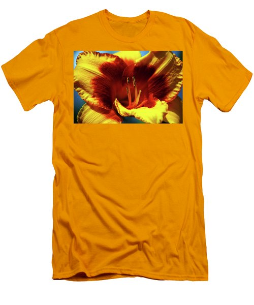 Flame Daylily 1238 H_2 Men's T-Shirt (Athletic Fit)