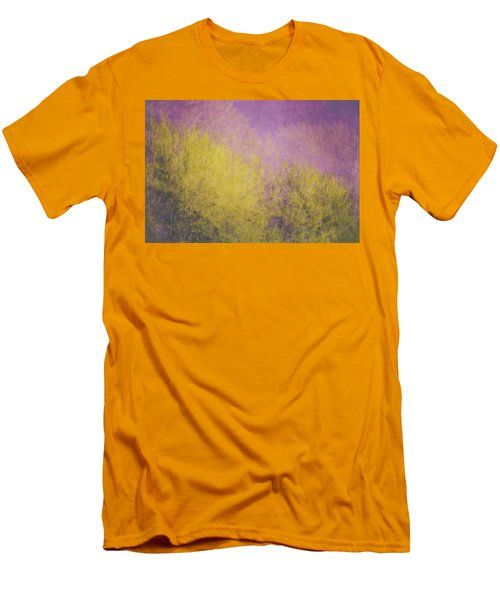 Men's T-Shirt (Slim Fit) featuring the photograph Flaming Foliage 3 by Ari Salmela