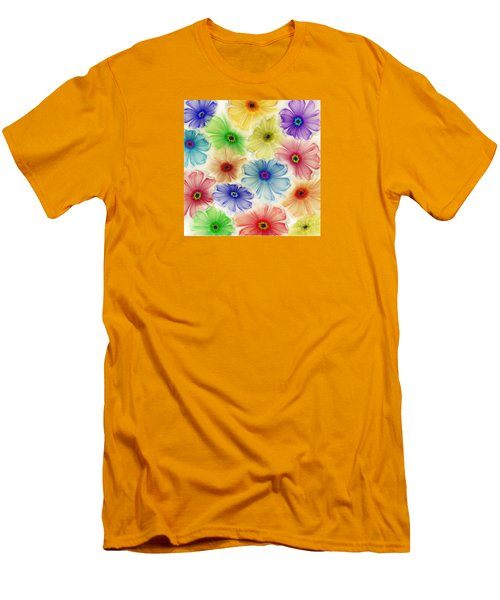 Men's T-Shirt (Slim Fit) featuring the digital art Flowers For Eternity by Klara Acel