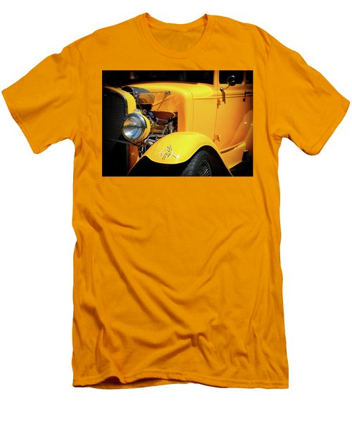 Men's T-Shirt (Athletic Fit) featuring the photograph Ford Hot-rod by Jeremy Lavender Photography