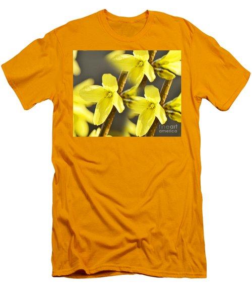 Forsythia Three Men's T-Shirt (Athletic Fit)