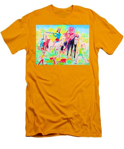 Four Horsemen Men's T-Shirt (Athletic Fit)