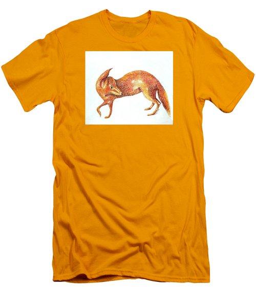 Fox Trot Men's T-Shirt (Slim Fit) by Tamyra Crossley