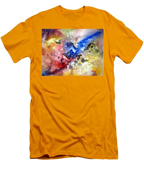 Men's T-Shirt (Slim Fit) featuring the painting Fruitfulness by Raymond Doward