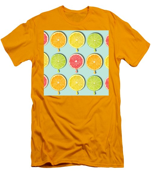 Fruity Men's T-Shirt (Slim Fit) by Mark Ashkenazi