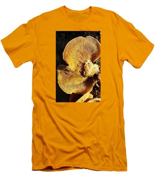 Fungus Men's T-Shirt (Slim Fit) by Bruce Carpenter