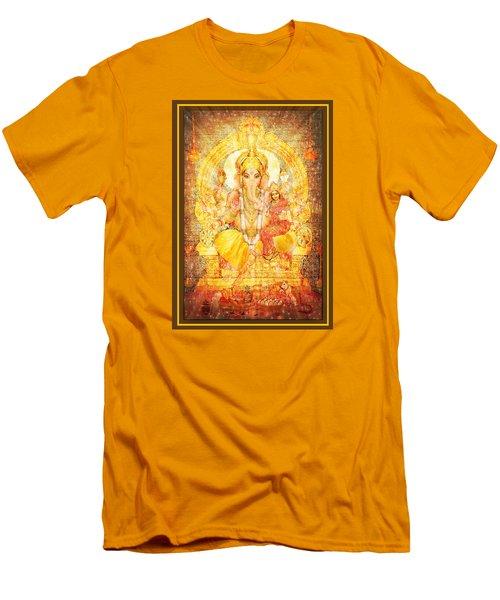 Ganesha Ganapati  Men's T-Shirt (Athletic Fit)