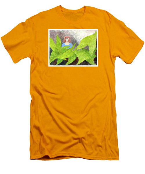 Garden Fantasy  Men's T-Shirt (Slim Fit) by Fred Jinkins