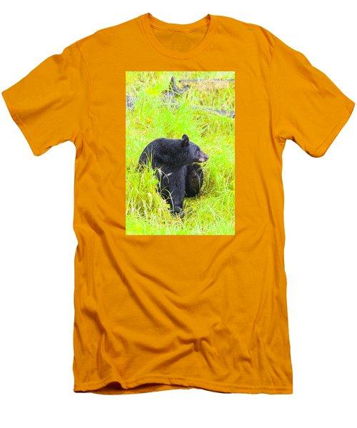 Getting Ready Men's T-Shirt (Slim Fit) by Harold Piskiel