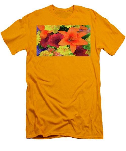 Glorious Summer Colors Men's T-Shirt (Athletic Fit)