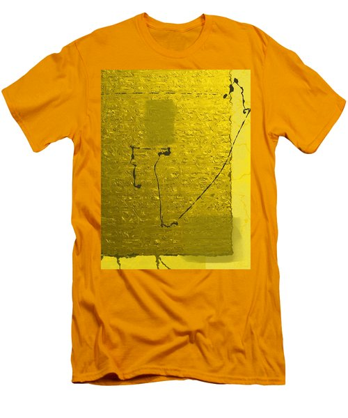Gold Parchment Men's T-Shirt (Slim Fit)