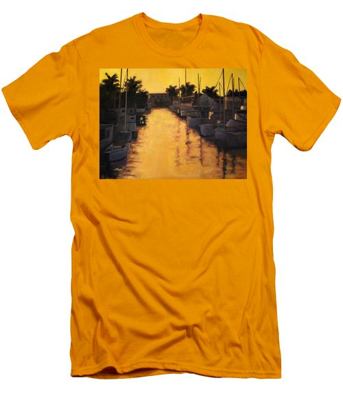 Golden Marina 2 Men's T-Shirt (Athletic Fit)