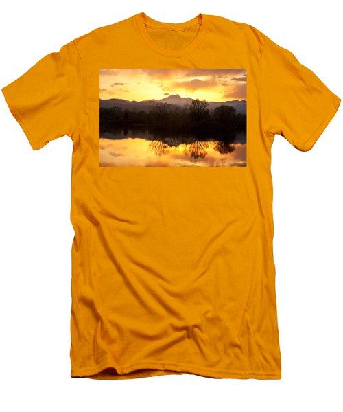 Golden Ponds Longmont Colorado Men's T-Shirt (Slim Fit) by James BO  Insogna