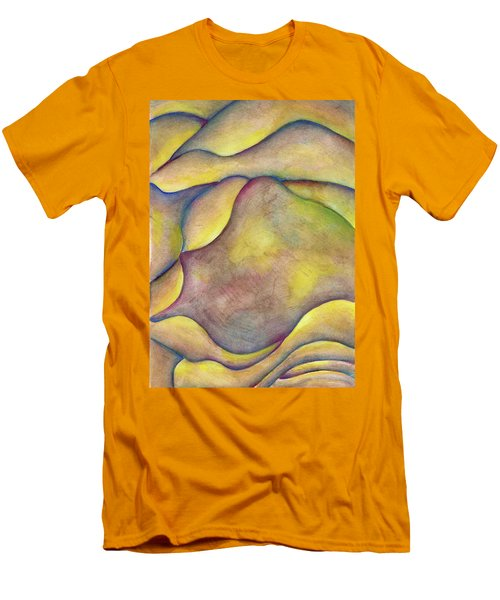 Golden Rose Men's T-Shirt (Slim Fit) by Versel Reid