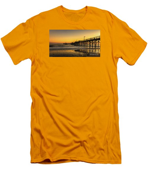 Goleta Sunset Men's T-Shirt (Athletic Fit)