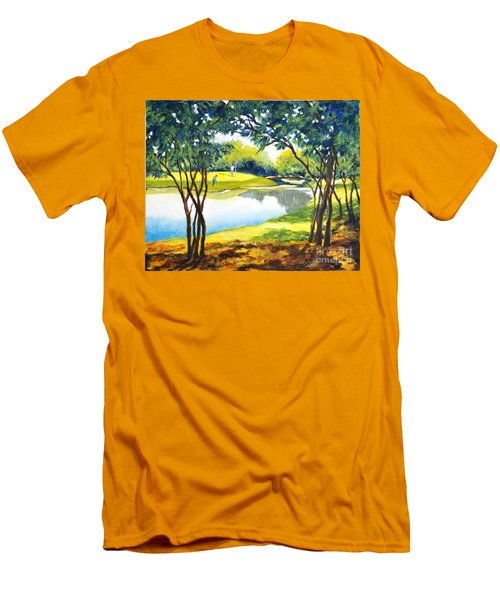Golf Haven Men's T-Shirt (Athletic Fit)