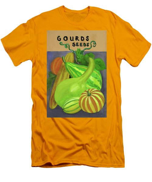 Gourd Purple Men's T-Shirt (Athletic Fit)
