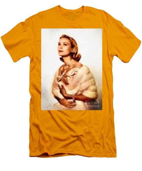 Grace Kelly, Vintage Actress By John Springfield Men's T-Shirt (Athletic Fit)