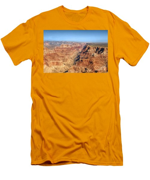 Grand Canyon Aerial View Men's T-Shirt (Athletic Fit)