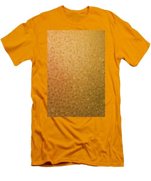 Grapefruit Skin Men's T-Shirt (Slim Fit) by Steve Gadomski