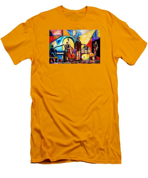 Gregory Porter And Band Men's T-Shirt (Athletic Fit)