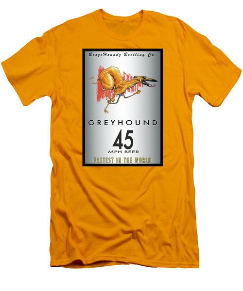 Greyhound 45 Mph Beer Men's T-Shirt (Athletic Fit)