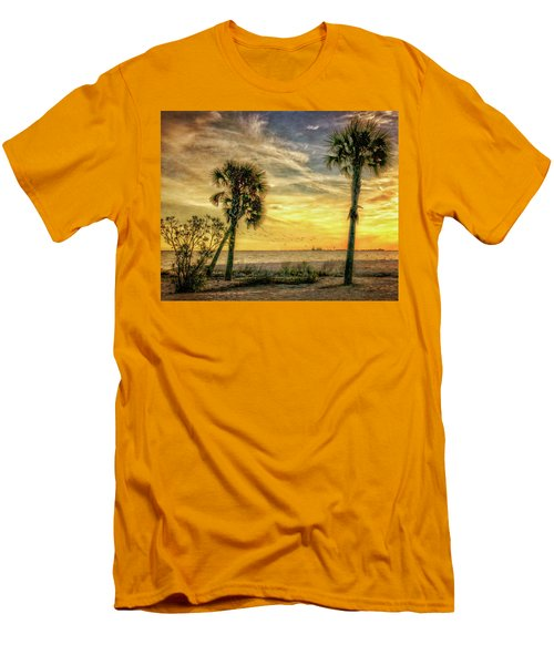 Gulfport Sunset Men's T-Shirt (Athletic Fit)