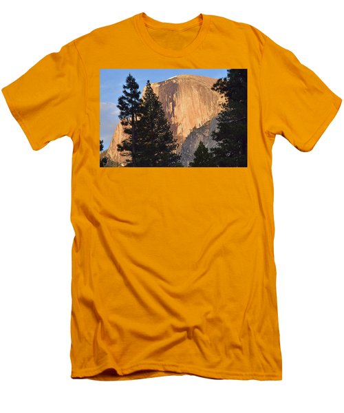 Half Dome Sunset Men's T-Shirt (Athletic Fit)