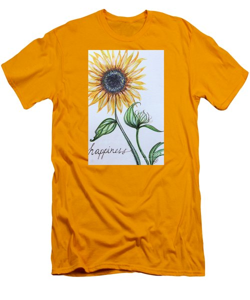 Happiness Men's T-Shirt (Slim Fit) by Elizabeth Robinette Tyndall