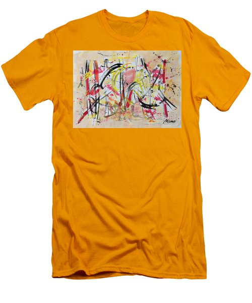 Happyness Men's T-Shirt (Athletic Fit)