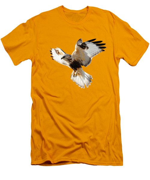 Hawk T-shirt Men's T-Shirt (Slim Fit) by Greg Norrell