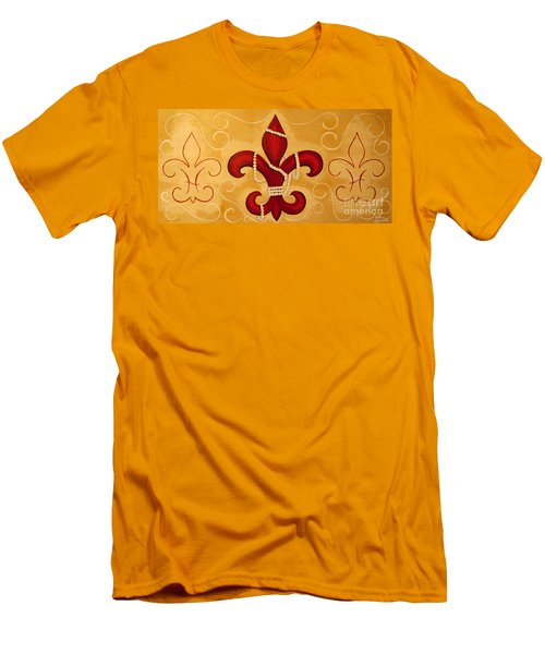 Heart Of New Orleans Men's T-Shirt (Athletic Fit)