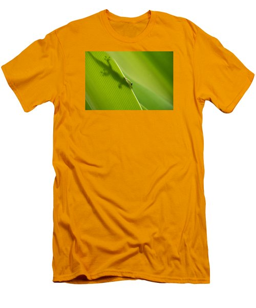 Men's T-Shirt (Slim Fit) featuring the photograph Hidden In Plain Sight by Christina Lihani