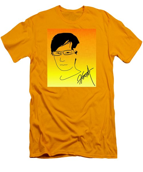 Hideo Kojima Men's T-Shirt (Slim Fit) by Kyle West