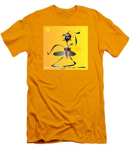 Hip Hop Men's T-Shirt (Slim Fit) by Iris Gelbart