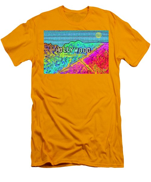 Hollycolorwood Men's T-Shirt (Athletic Fit)